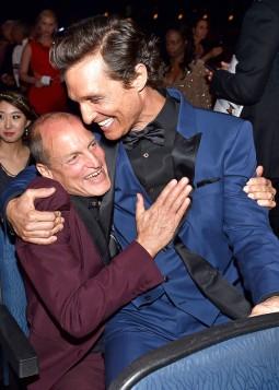 Woody Harrelson, Matthew McConaughey True Detective Emmys HdS