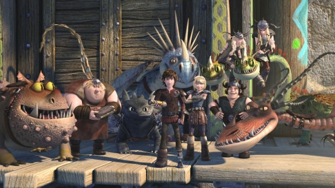 DRAGONS - Cómo entrenar a tu Dragón 2 (2) - Netflix