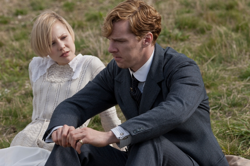 Picture Shows: ADELAIDE CLEMENS as Valentine and BENDEDICT CUMBERBATCH as Christopher © Mammoth Screen Limited 2012