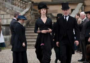 Picture shows: REBECCA HALL as Sylvia and BENEDICT CUMBERBATCH as Christopher © Mammoth Screen Limited 2012