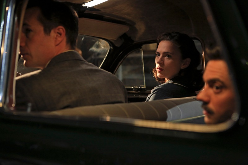 JAMES D'ARCY, HAYLEY ATWELL, DOMINIC COOPER
