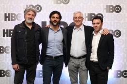Gustavo Malajovich, Joaquin Furriel, Roberto Rios y Diego Andrasnik