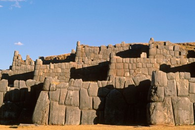 Peru, Cuzco, Sacsayhuaman Inca ruins,