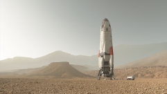The Daedalus on Mars.