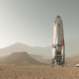 The Daedalus on Mars.