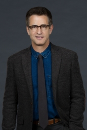 PURE GENIUS -- Season: Pilot -- Pictured: Dermot Mulroney as Dr. Ward Wallace -- (Photo by: Sonja Flemming/CBS/Universal Television)
