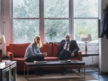 Claire Danes as Carrie Mathieson and Mandy Patinkin as Saul Berenson in Homeland (Season 6, Episode 02). - Photo: JoJo Whilden/SHOWTIME