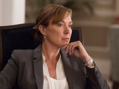 Elizabeth Marvel as Elizabeth Keane in HOMELAND (Season 6, Episode 03). - Photo: JoJo Whilden/SHOWTIME - Photo ID: HOMELAND_603_157.R