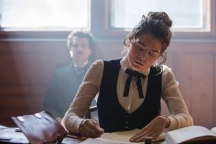 PRAGUE - Samantha Colley plays Mileva Maric in National Geographic's Genius.(Photo Credit: National Geographic/Dusan Martincek)