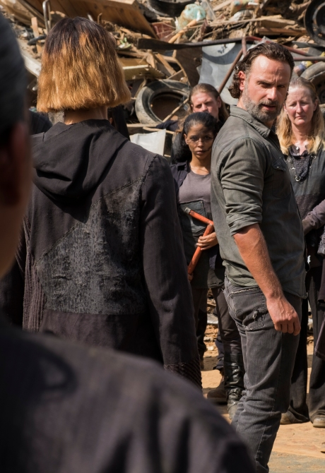 Andrew Lincoln as Rick Grimes- The Walking Dead _ Season 7, Episode 10 - Photo Credit: Gene Page/AMC