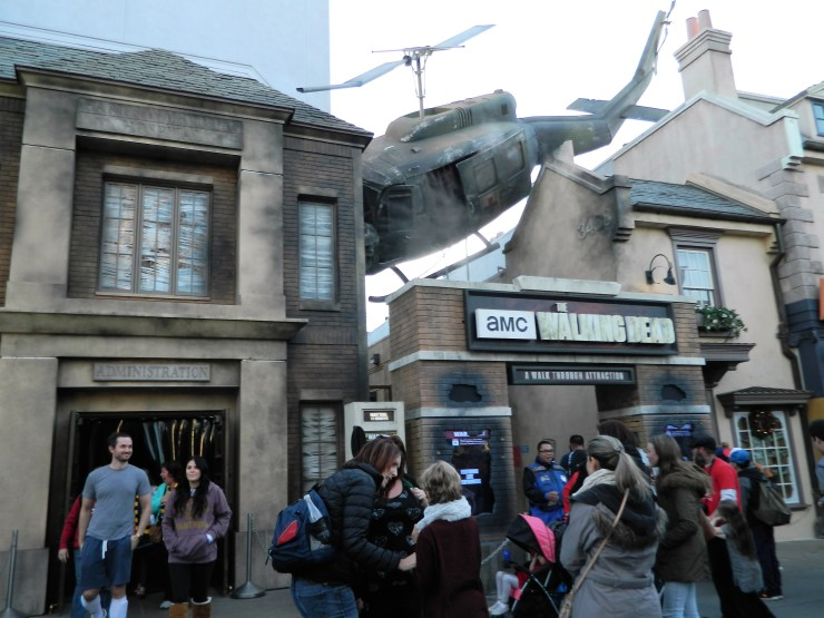 The Walking Dead Attraction Universal Hollywood Hablemos de Series