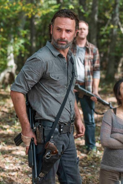 Andrew Lincoln as Rick Grimes - The Walking Dead _ Season 7, Episode 15 - Photo Credit: Gene Page/AMC