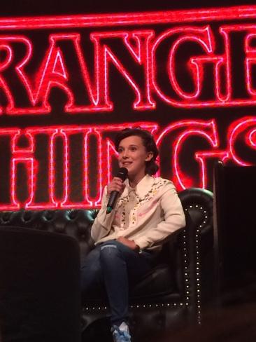 Millie Bobby Brown en Argentina Comic-Con 2017