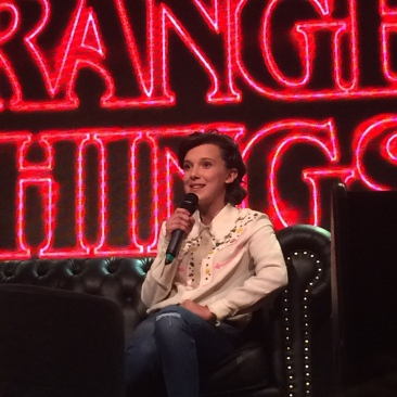 Millie Bobby Brown en Argentina Comic-Con 2017