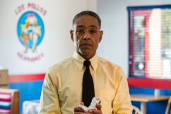 "Giancarlo Esposito es Gustavo ""Gus"" Fring - Better Call Saul _ Season 3, Episode 4 - Photo Credit: Michele K. Short/AMC/Sony Pictures Television"