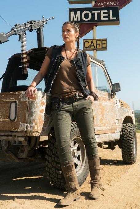 Mercedes Mason as Ofelia Salazar - Fear the Walking Dead _ Season 3 - Photo Credit: Richard Foreman, Jr/AMC