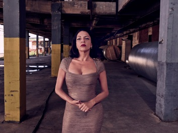 QUEEN OF THE SOUTH -- Season:2 -- Pictured: Veronica Falcon as Camila -- (Photo by: Dennis Leupold/USA Network)