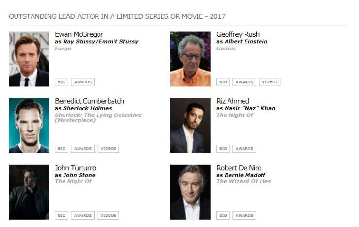 emmys 2017 mejor actor miniserie