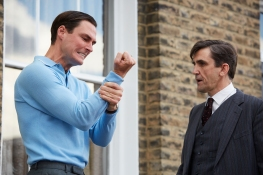 James Farrar as Lester Watts, Stephen McGann as Dr Patrick Turner