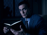 AMERICAN HORROR STORY: CULT -- Pictured: Cheyenne Jackson as Dr. Vincent. CR: Frank Ockenfels/FX