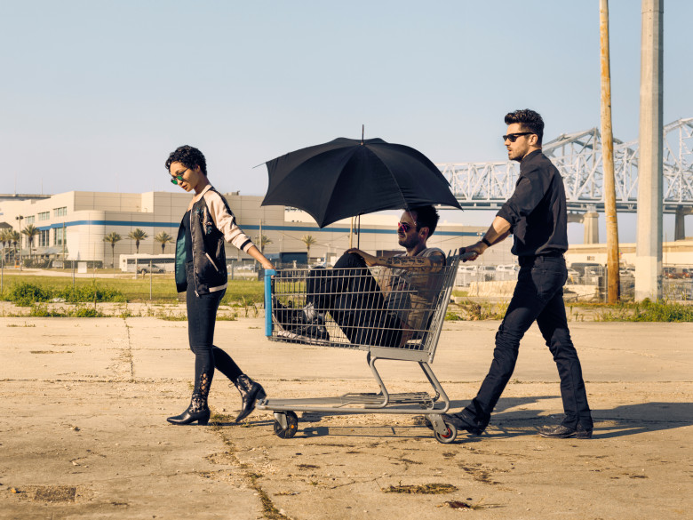 Ruth Negga as Tulip O'Hare, Joseph Gilgun as Cassidy, Dominic Cooper as Jesse Custer - Preacher _ Season 2, Gallery - Photo Credit: Marco Grob/AMC