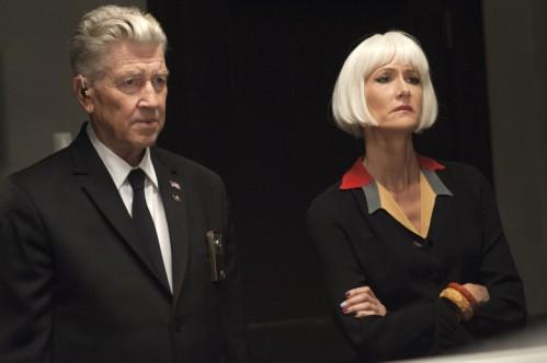 David Lynch y Laura Dern