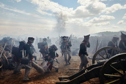 "Picture shows: A scene from episode 5 of ""War And Peace"""