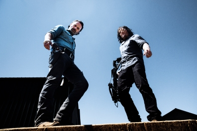 Norman Reedus as Daryl Dixon, Andrew Lincoln as Rick Grimes- The Walking Dead _ Season 8, Gallery - Photo Credit: Alan Clarke/AMC