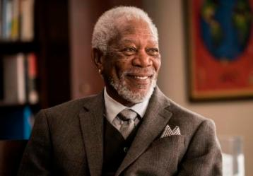 New York City - Host Morgan Freeman as seen on National Geographic's The Story of Us with Morgan Freeman (National Geographic/Zach Dilgard)