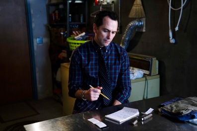 """THE AMERICANS -- """"Dead Hand"""" -- Season 6, Episode 1 (Airs Wednesday, March 28, 10:00 pm/ep) -- Pictured: Matthew Rhys as Philip Jennings. CR: Patrick Harbron/FX"""