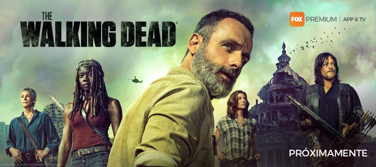 FOX Premium - The Walking Dead 9 (Español) Horizontal
