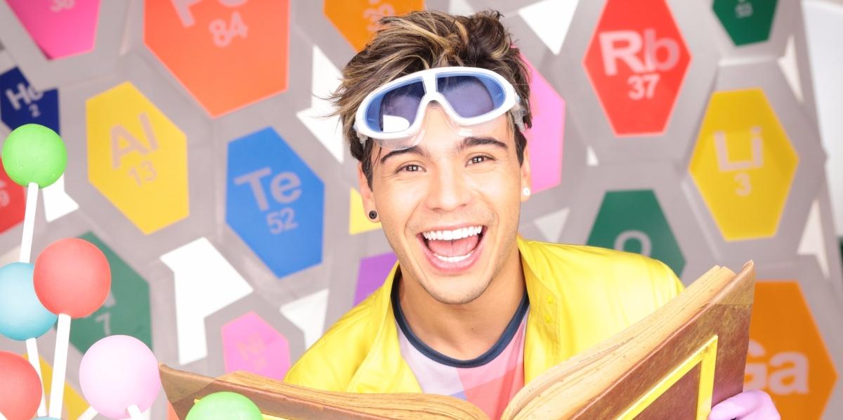 """Nat Geo Lab"", la nueva serie de Nat Geo Kids con Sebastián Villalobos"